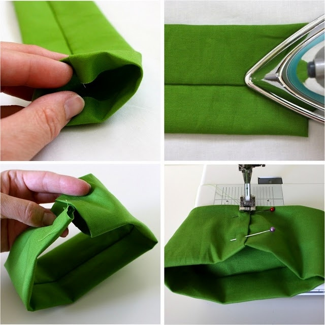 Как сшить галстук-бабочку: мастер