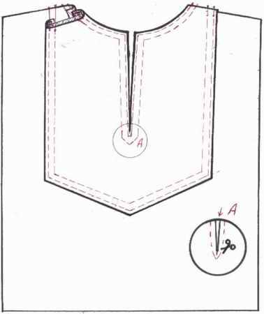 Как сшить платье с разрезом