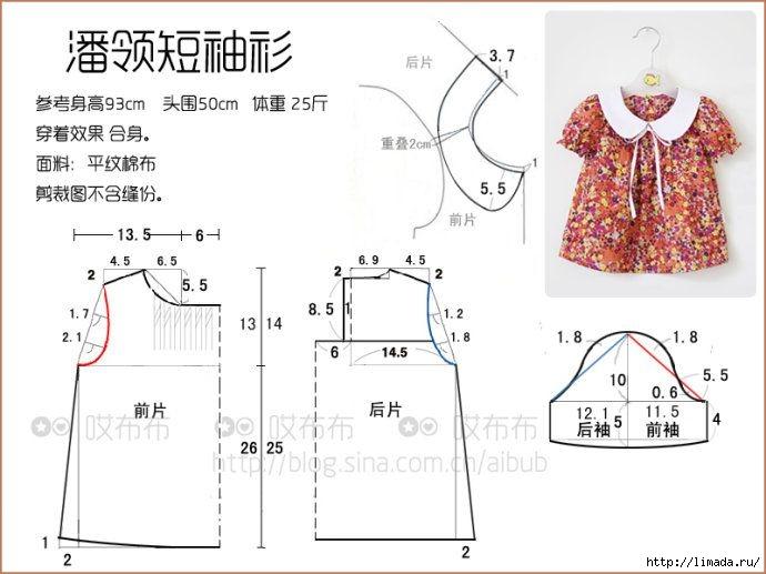 Сшить платье своими руками выкройки для девочки 7 лет