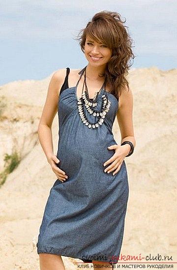Сшить сарафан для беременных своими руками