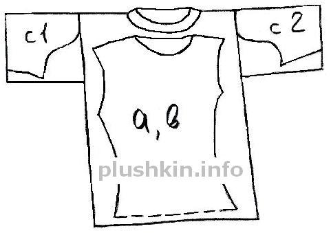 Как сшить блузку из мужской рубашку 135