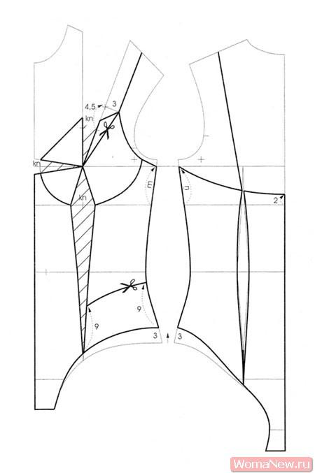 Как сделать выкройку боди