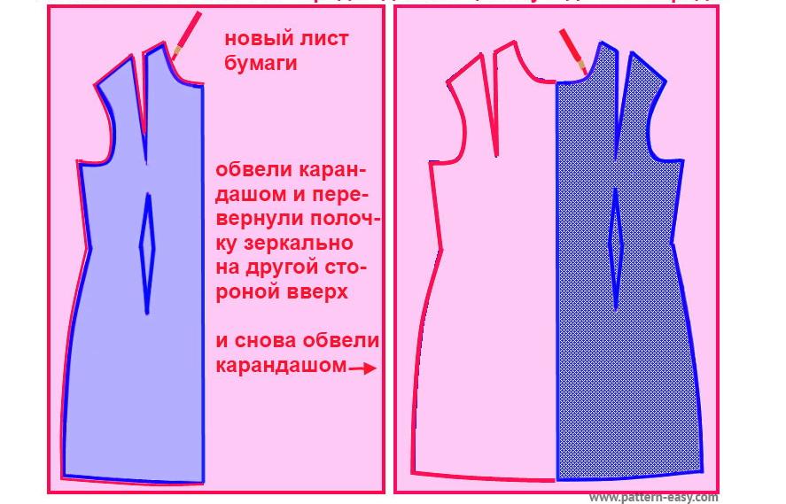 Как сшить платье на запах своими руками