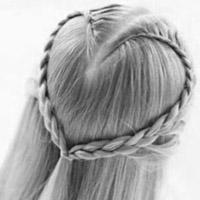 Фото схема плетіння зачісок