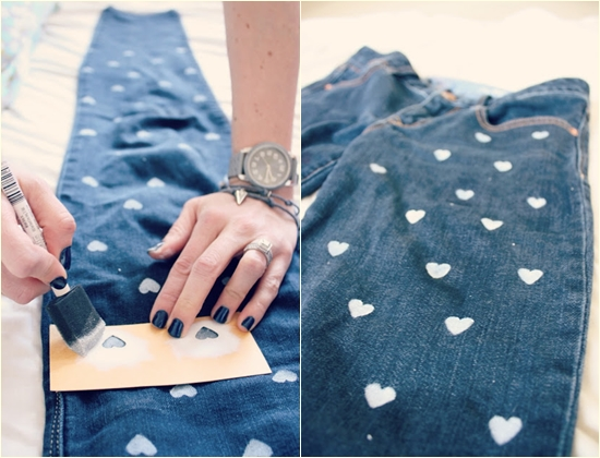 Мятые джинсы своими руками 1