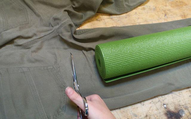 Чехол для коврика выкройка