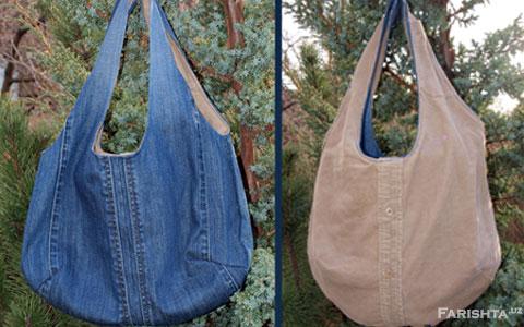 для сумок из джинсов