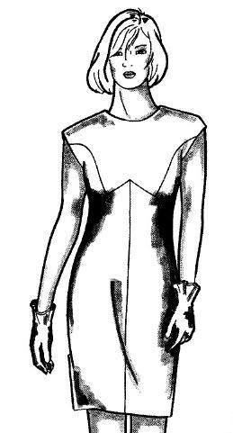 Вертикальная сборка под грудью