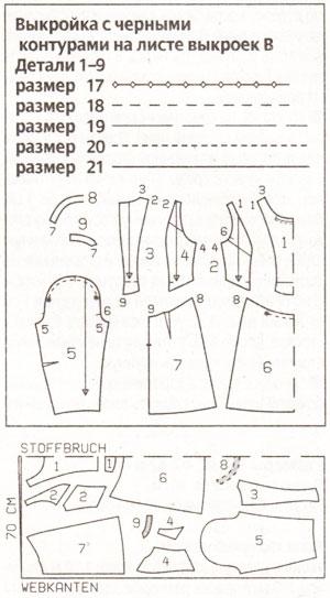 Платья в стиле стиляг выкройки