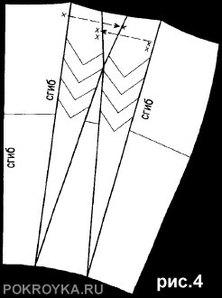 Как сшить юбка в складку на кокетке выкройка фото 551