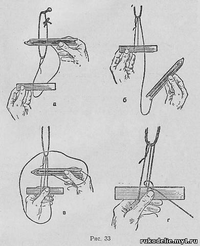 как плести сеть для рыбалки своими руками