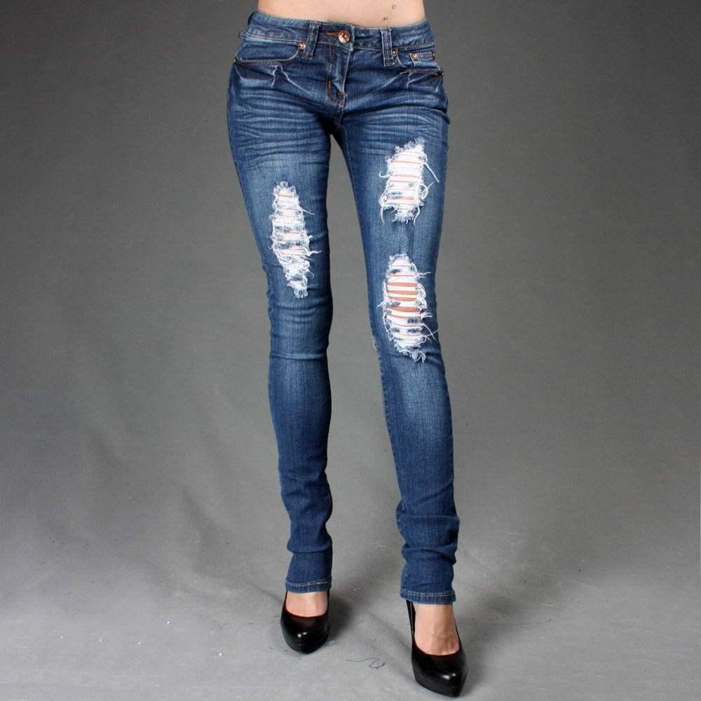 Рваные джинсы фото своими руками видео