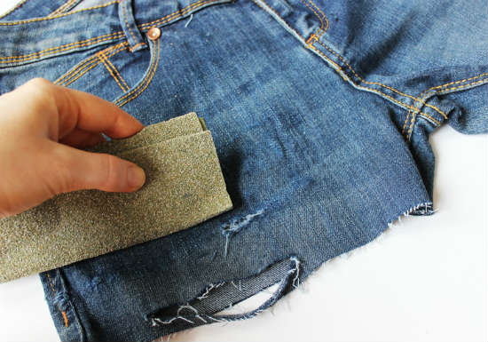 Из джинс без машинки