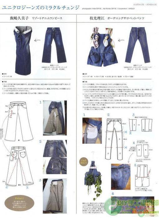 Как сшить сарафан из старых джинсов своими руками
