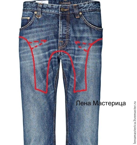 Переделки своими руками из джинсы