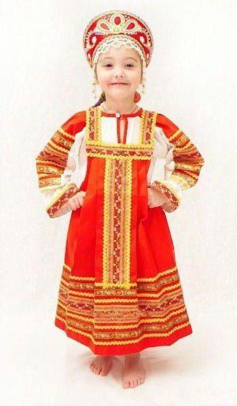 сарафан русский народный для девочки