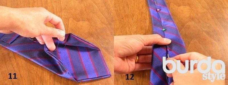 Сшить галстук ребенку