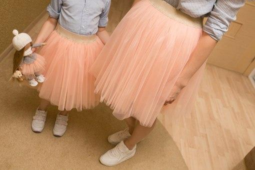 Как сделать детскую юбку из фатина своими руками