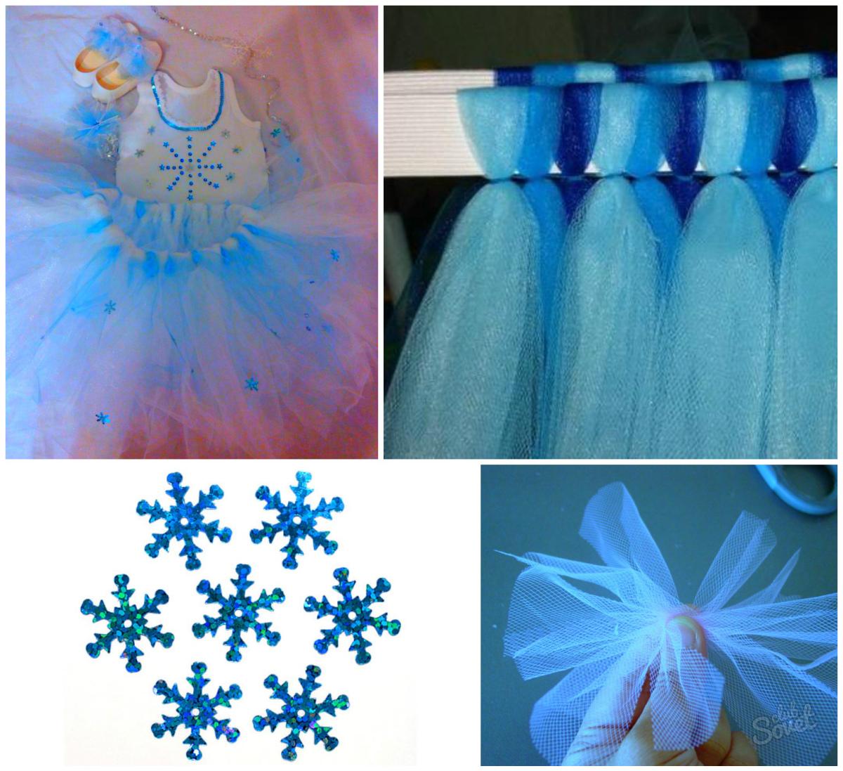 Костюм снежинки своими руками: выкройки, фото и идеи 90