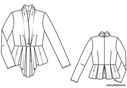 Выкройка одной блузки бесплатно скачать