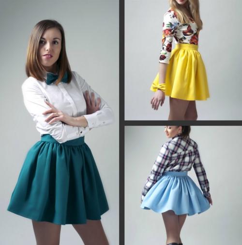 Как сшить детскую юбку чтобы она была пышной