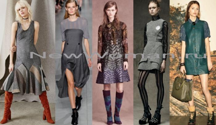 Сарафаны 2017 года модные зима