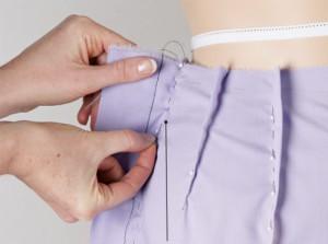 подгонка одежды по фигуре