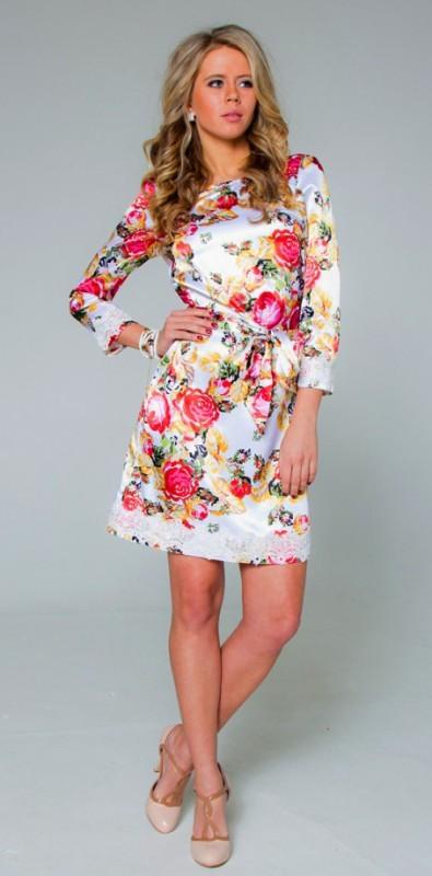 Летнее платье для полных своими руками с выкройками фото 529