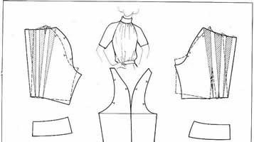 3b9006eb53b Выкройка блузки из шифона. Как сшить женскую блузку самой. Летние ...