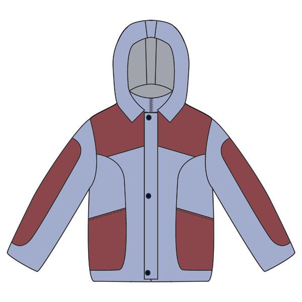 Выкройка детской выкройка куртки для мальчика.. Выкройки даны без
