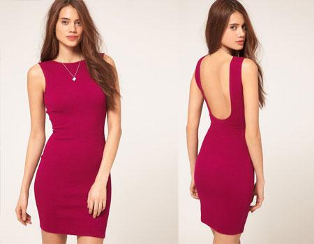 Короткие платья с открытой спиной выкройки