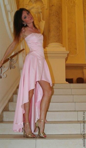 длинные и пышные платья