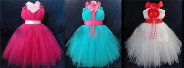 Как своими руками сшить платье из фатина для девочки