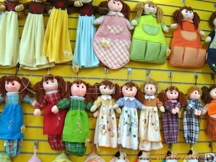 Кукла своими руками для расчесок 41
