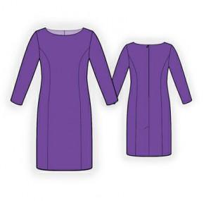 построение выкройки-основы платья