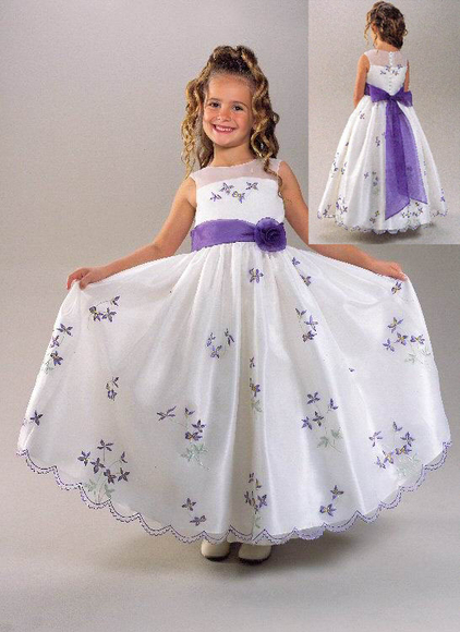Платье на выпускной детское своими руками
