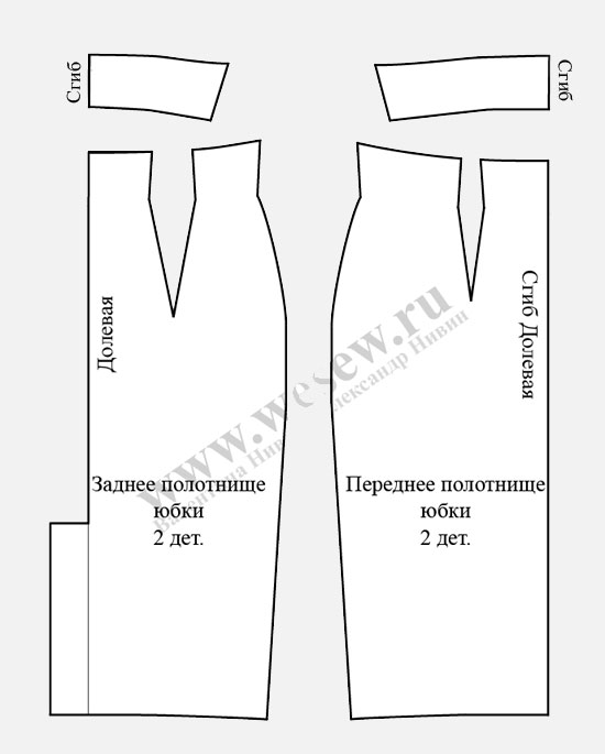 Модели юбок и выкройки для пошива своими руками