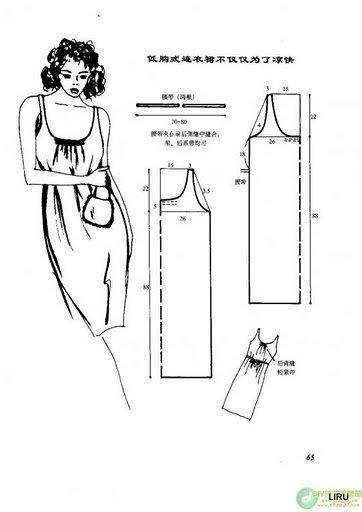 Выкройки летних платьев и сарафанов для начинающих