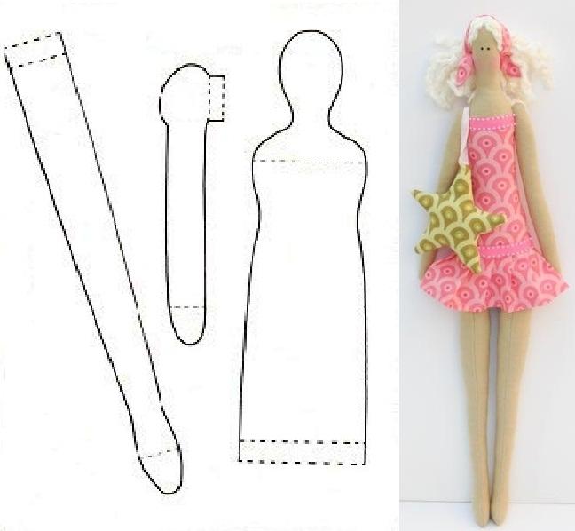 Одежда для кукол своими руками для начинающих видео