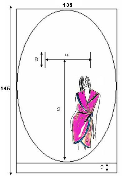 Теплые халаты женские выкройки