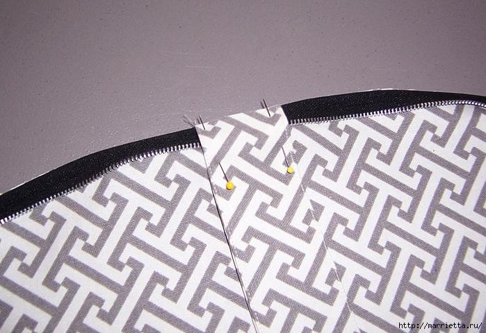 Как сшить стильную сумку с цветами из молний. Мастер-класс (11) (700x480, 289Kb)