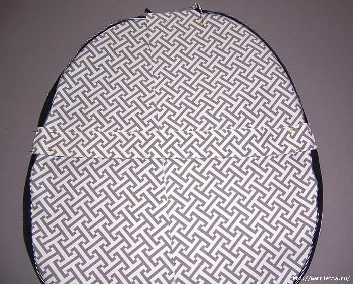 Как сшить стильную сумку с цветами из молний. Мастер-класс (12) (700x563, 426Kb)