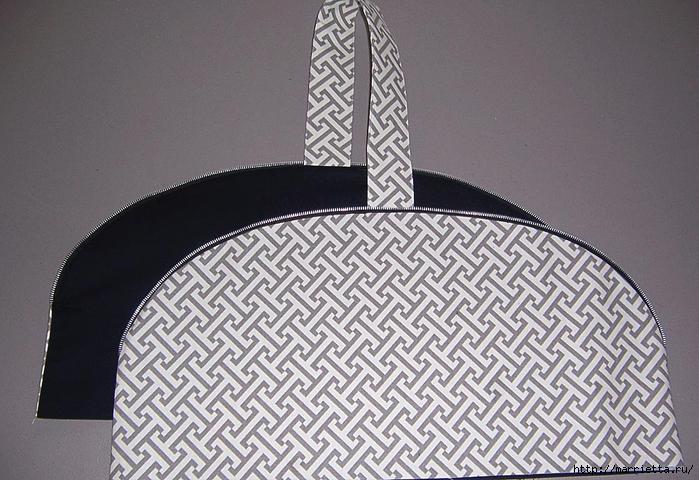 Как сшить стильную сумку с цветами из молний. Мастер-класс (14) (700x480, 287Kb)