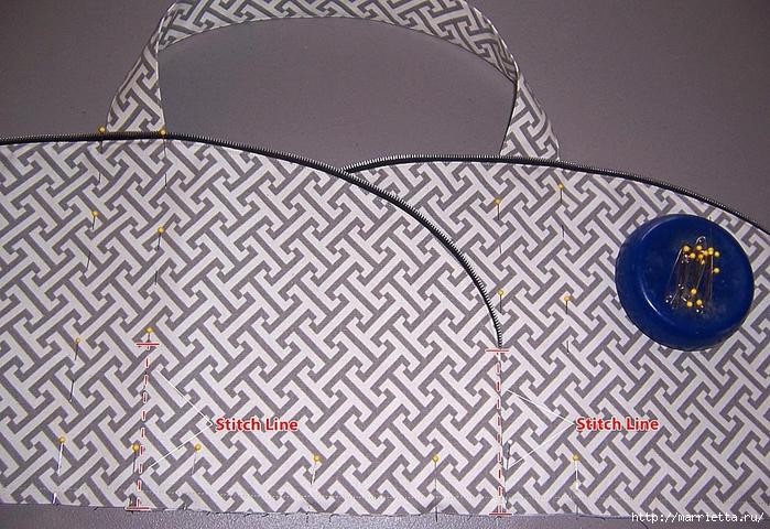 Как сшить стильную сумку с цветами из молний. Мастер-класс (15) (700x480, 352Kb)