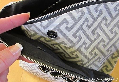 Как сшить стильную сумку с цветами из молний. Мастер-класс (23) (500x344, 122Kb)