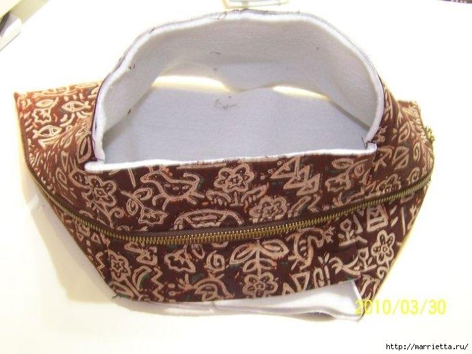 Шьем сумку. Фото мастер-класс по пошиву (7) (690x517, 157Kb)