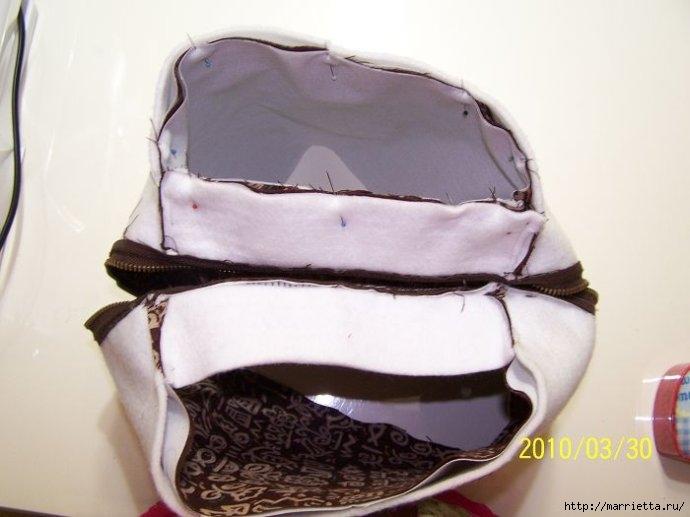 Шьем сумку. Фото мастер-класс по пошиву (15) (690x517, 131Kb)
