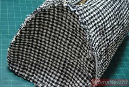 саквояж сумка из ткани