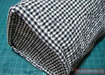 сшить сумку саквояж из ткани