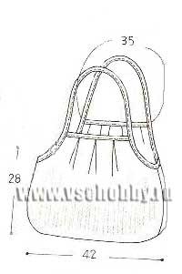 Общая схема сумки своими руками